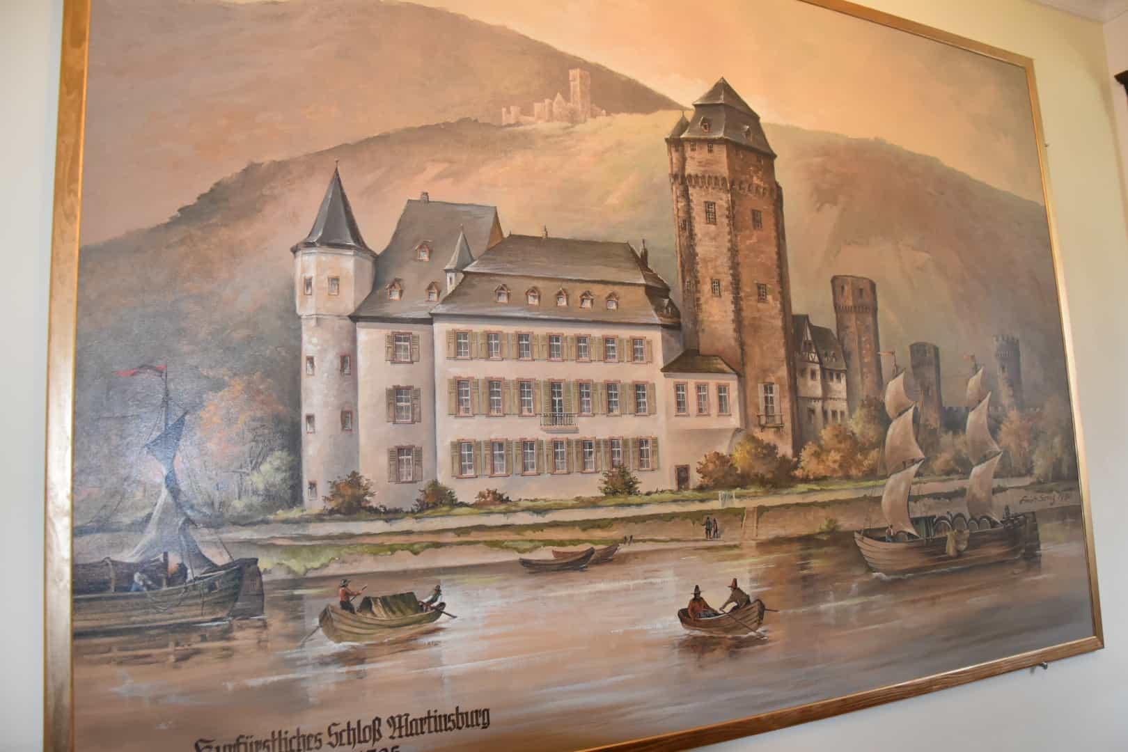 Unser Clubausflug Mai 19 – Marksburg – Rüdiger im Martinsschloss – Whisky = GESAMTKUNSTWERK !!!
